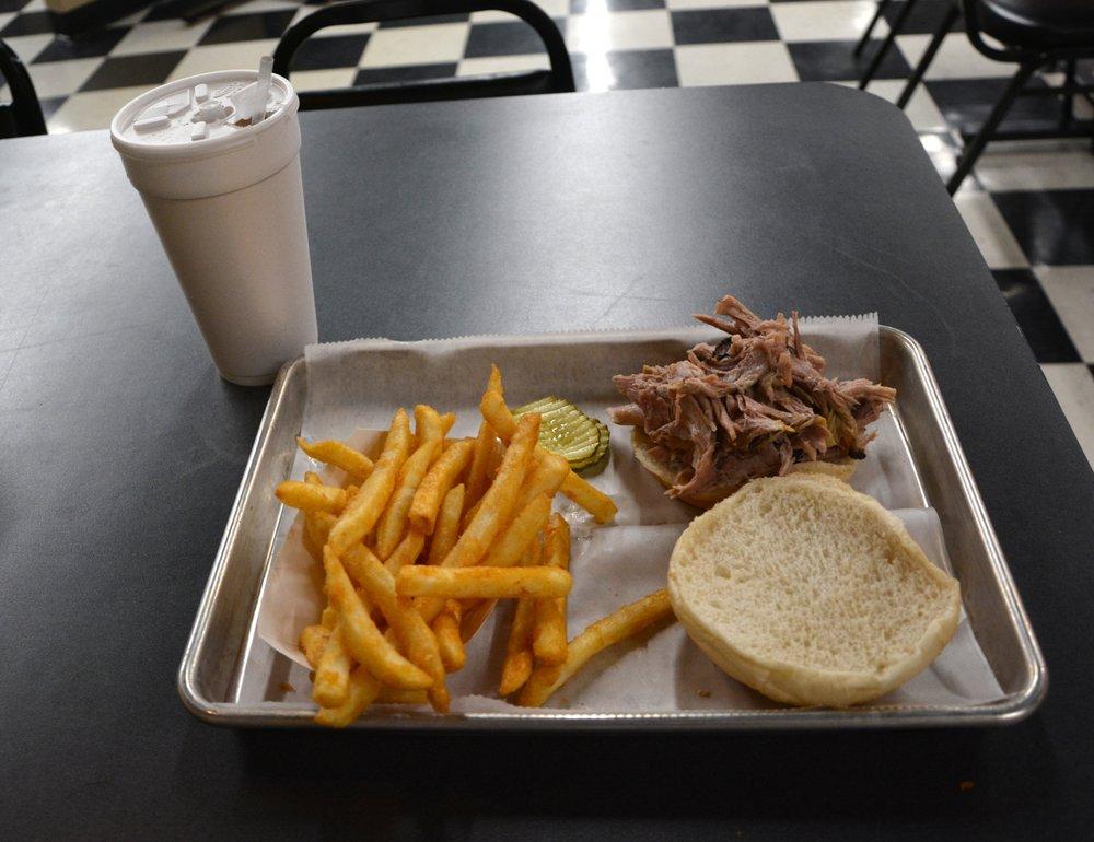 Smokey J's BBQ: 215 S Broad St, Mooresville, NC