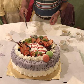Six Ping Birthday Cake