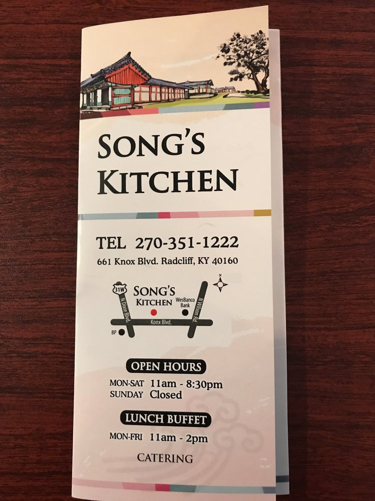 Song S Kitchen Radcliff Ky