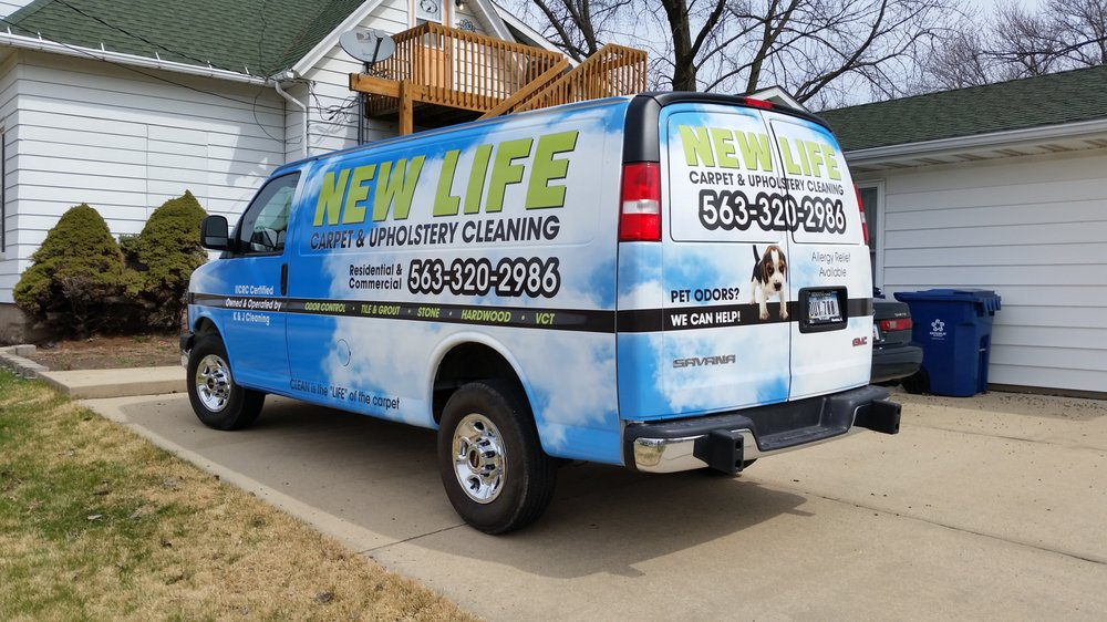 New Life Carpet and Upholstery Cleaning: 3616 24th St, Rock Island, IL