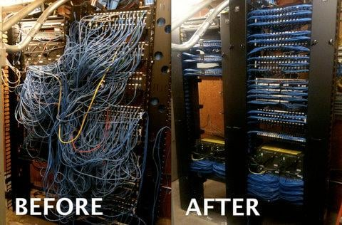 a neat rack is a critical for a well running network - yelp  #11