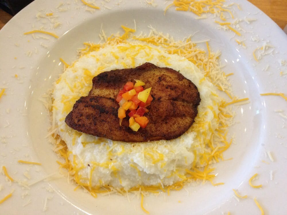 Cajun fish cheese grits yelp for Fish and grits near me