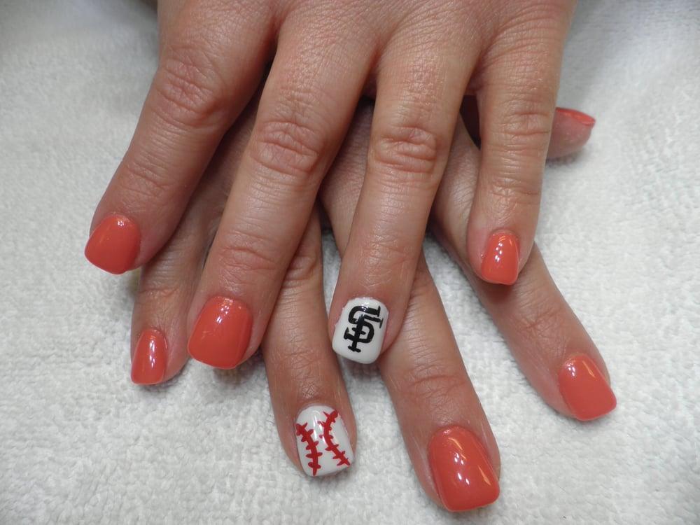 Nails Art SF Giants! - Yelp