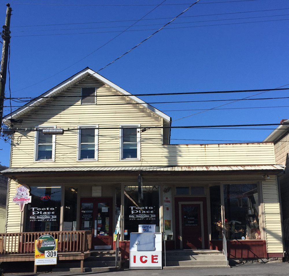 Toots' Place: 33 S Main St, Reedsville, PA