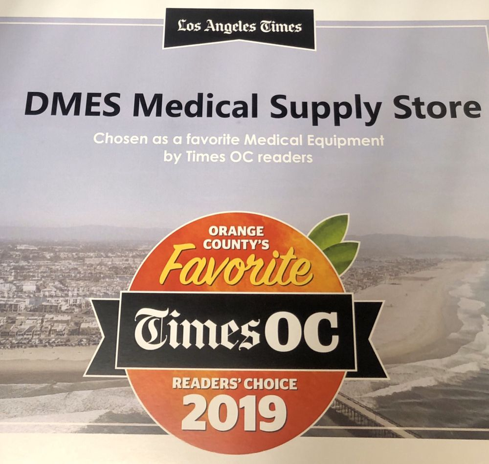 DMES Home Medical Supply Store Los Alamitos: 3474 Katella Ave, Los Alamitos, CA