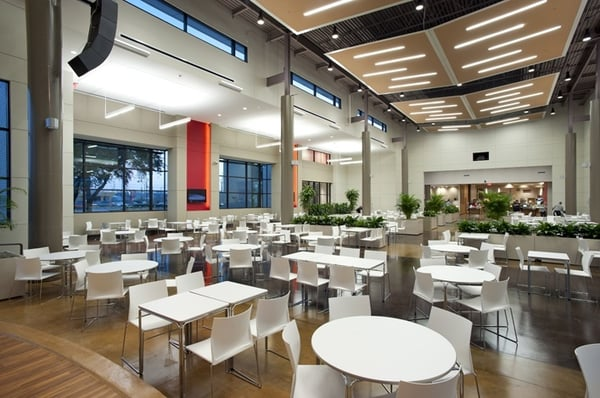 Bell helicopter employee center cafeteria east