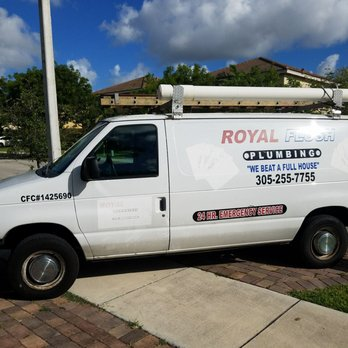 Photo Of Royal Flush Plumbing Services Homestead Fl United States Service Van