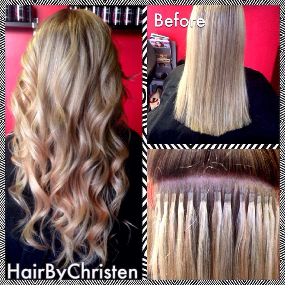 Keratin Tipped Hair Extensions The Most Natural Looking Extensions