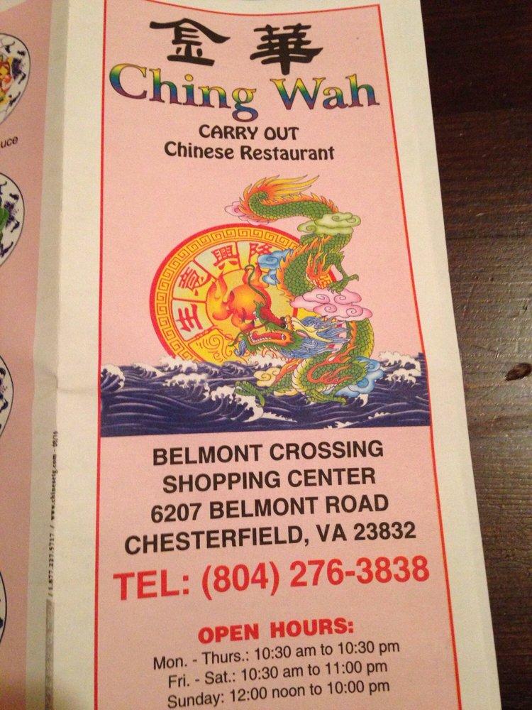Restaurant coupons chester va