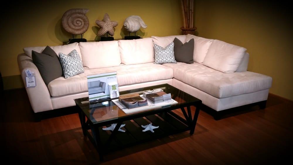 Metropolitan sofa x chaise sectional yelp for Metropolitan sectional sofa chaise