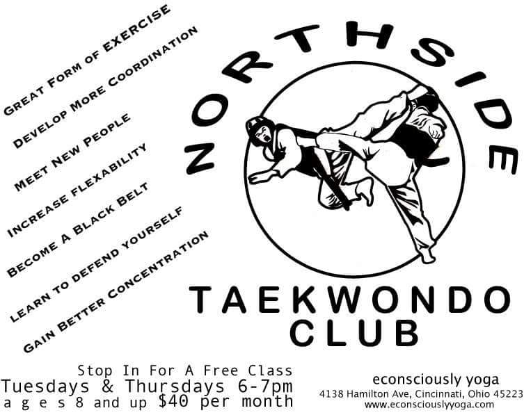 Northside Taekwondo Club: 4138 Hamilton Ave, Cincinnati, OH