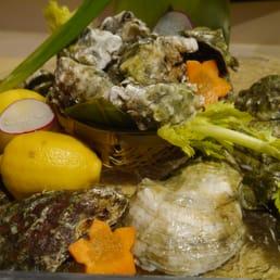 Mizu Hibachi & Sushi - New City, NY, United States. live oyster