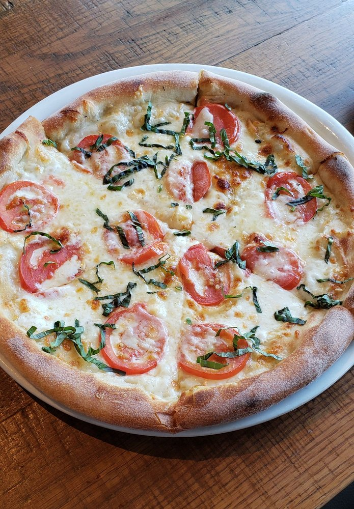 Swell Five Cheese And Tomato Pizza Yelp Beutiful Home Inspiration Truamahrainfo
