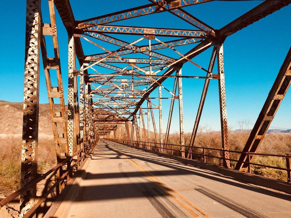Gillespie Dam Bridge: Old US Hwy 80, Arlington, AZ