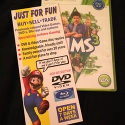 Just For Fun Video Games Edmonton Ab