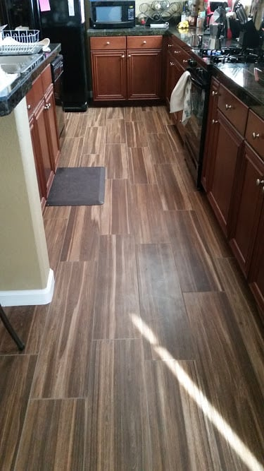 Marazzi harmony pitch wood look tile sand beige grout yelp for Hardwood floors las vegas