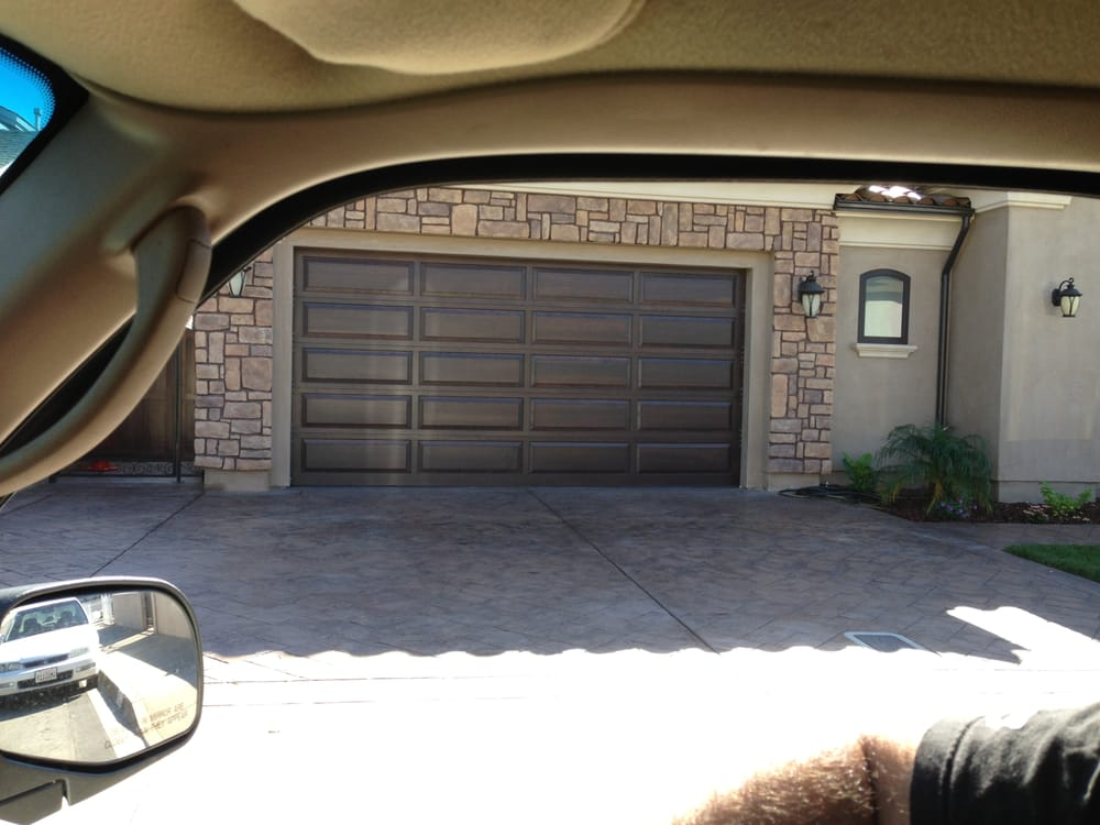 Wood door final product yelp for Garage door repair los angeles ca