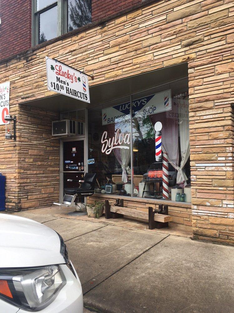 Lucky's Barber Shop: 506 W Main St, Sylva, NC