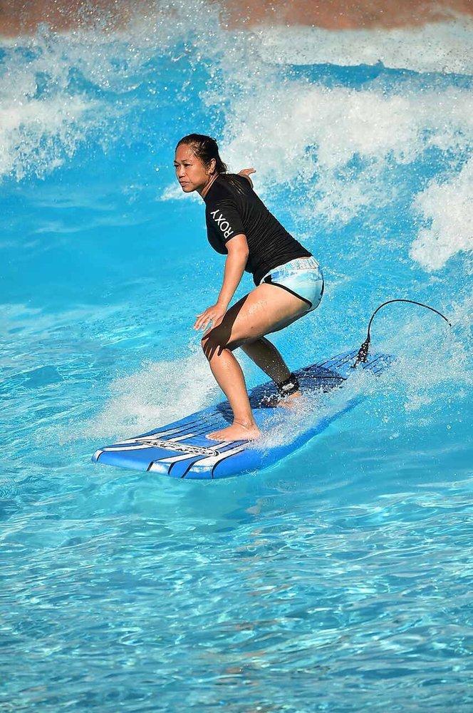 Surfing at Typhoon Lagoon: Walt Disney World Resort, Orlando, FL