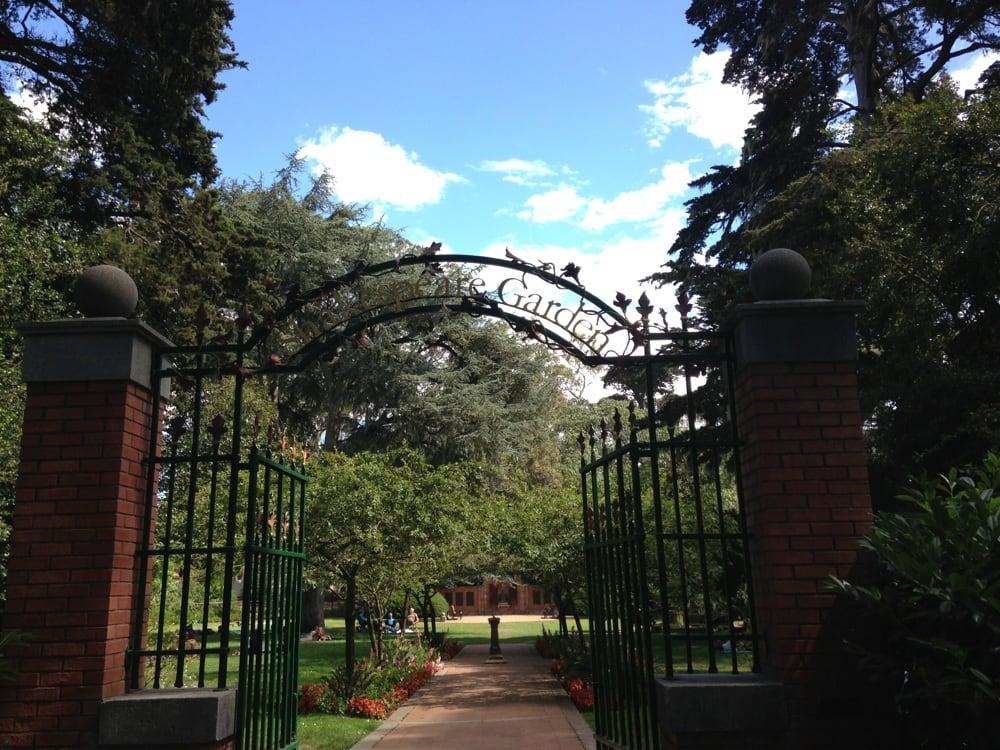 Entryway To Shakespeare Garden Yelp