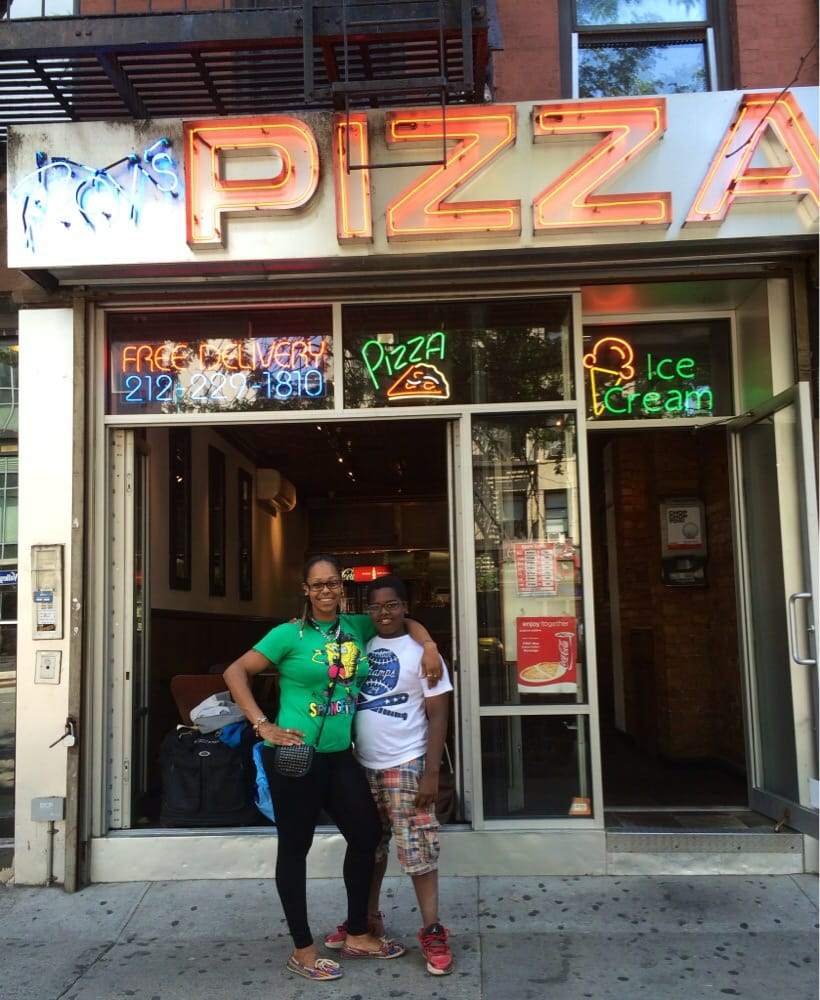 roy s pizza closed 16 reviews pizza 154 8th ave chelsea new york ny united states. Black Bedroom Furniture Sets. Home Design Ideas
