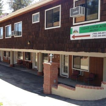 Cedar Lodge Motel Wrightwood Ca