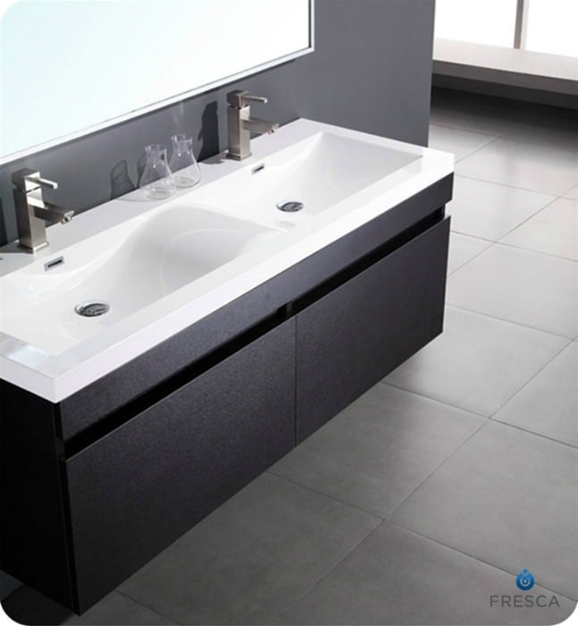 Double sink modern bathroom vanity toronto yelp - Bathroom vanities nebraska furniture mart ...