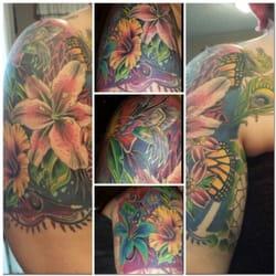 Photo Of The Black Lotus Tattoo Studio Modesto Ca United States My