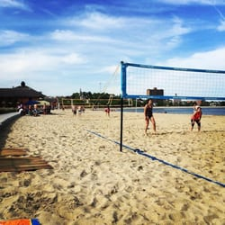 Photo Of Carson Beach Boston Ma United States Playing Some Vball With