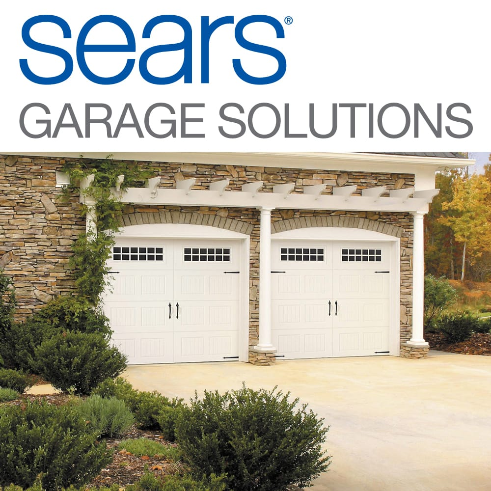 sears garage door installation and repair garage door