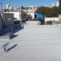 Photo Of Peninsula Roofing   San Francisco, CA, United States. Modified  Bitumen Granulated