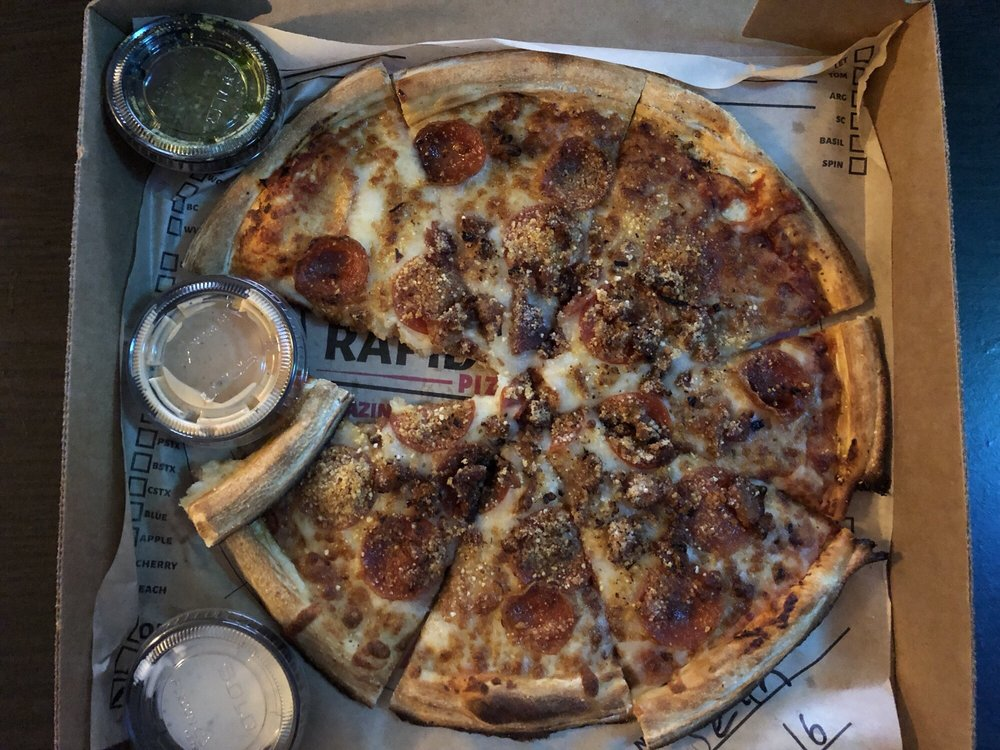Rapid Fired Pizza: 7555 Mall Rd, Florence, KY