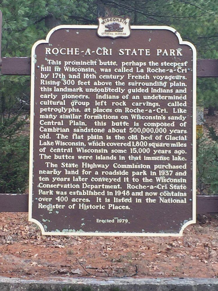 Roche-A-Cri State Park: 1767 State Highway 13, Friendship, WI