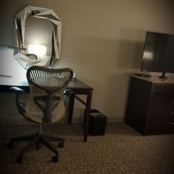Photo Of Hilton Garden Inn Arlington Shirlington   Arlington, VA, United  States. Desk