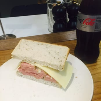 Photo Of Brass Rail Salt Beef Bar London United Kingdom Salt Beef Sandwich