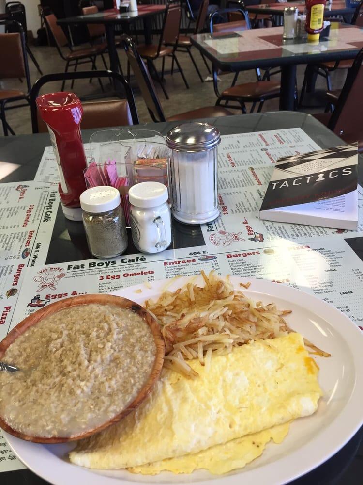 Fat Boys Cafe: 606 E Wyandotye, Mcalester, OK