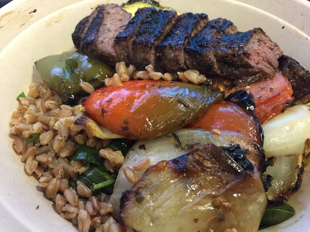 Moroccan Bowl With Steak Yelp