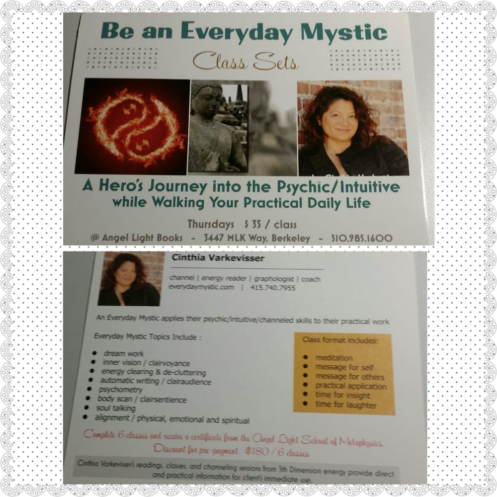 Cinthia Varkevisser - 20 Reviews - Supernatural Readings