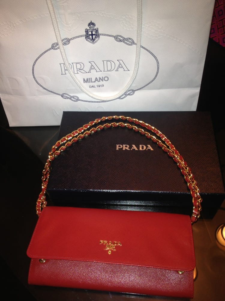 prada watches prices - Prada Saffiano Wallet on chain! Such a great bang for your buck ...