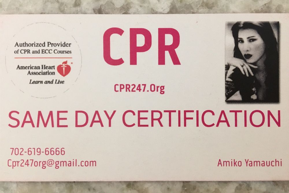 Cpr247 13 Photos Cpr Classes 3355 W Spring Mountain Rd