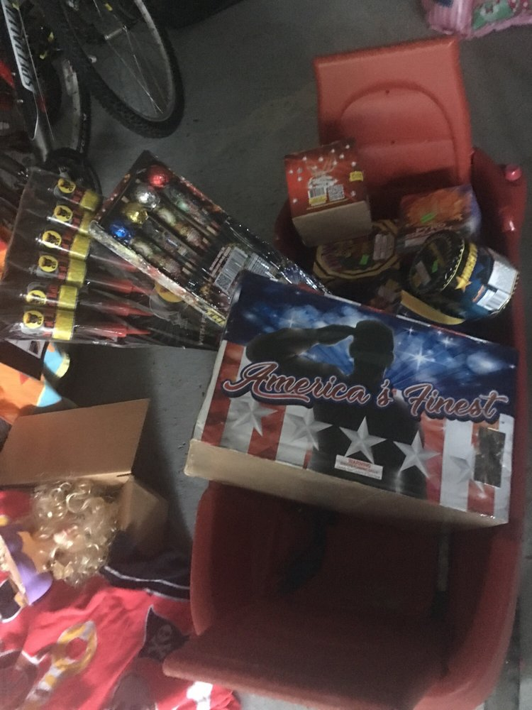 Black Bull Fireworks: 10505 US Hwy 12, Michigan City, IN