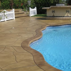 wellington pool deck resurfacing and repairs - pool & hot tub