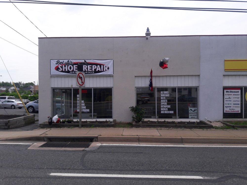 Bel Air Shoe Repair: 203 Baltimore Pike, Bel Air, MD