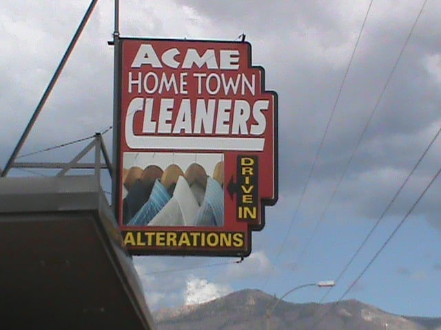 Acme Drive In Cleaners & Shirt Laundry: 901 10th St, Alamogordo, NM