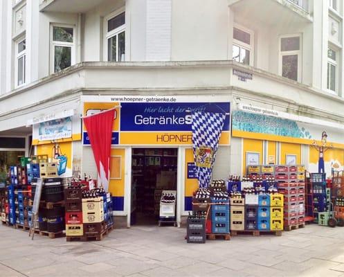 GetränkeShop Höpner - Beverage Store - Lappenbergsallee 45 ...