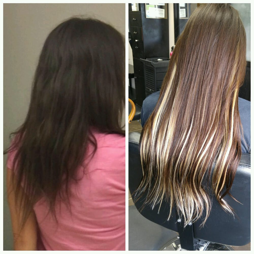 Beforeafter Extensions Done By Darlene Amazing Yelp