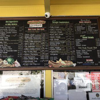 John S Philly Grille Huntington Beach Ca Menu