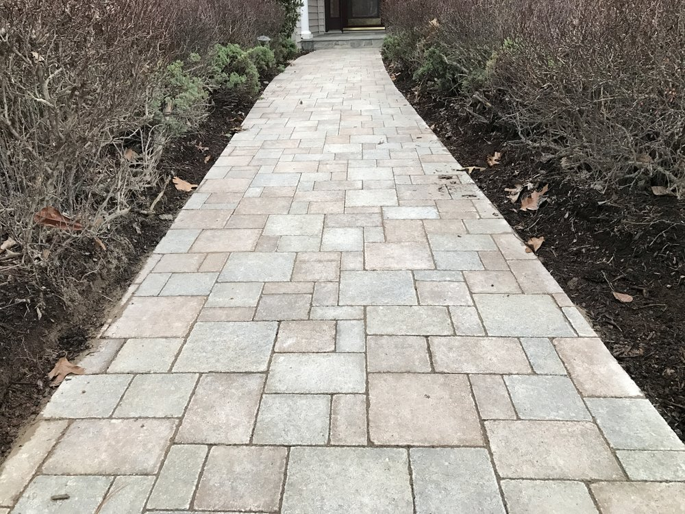A Beautiful Hanover Paver Walkway In Leesburg Va Yelp
