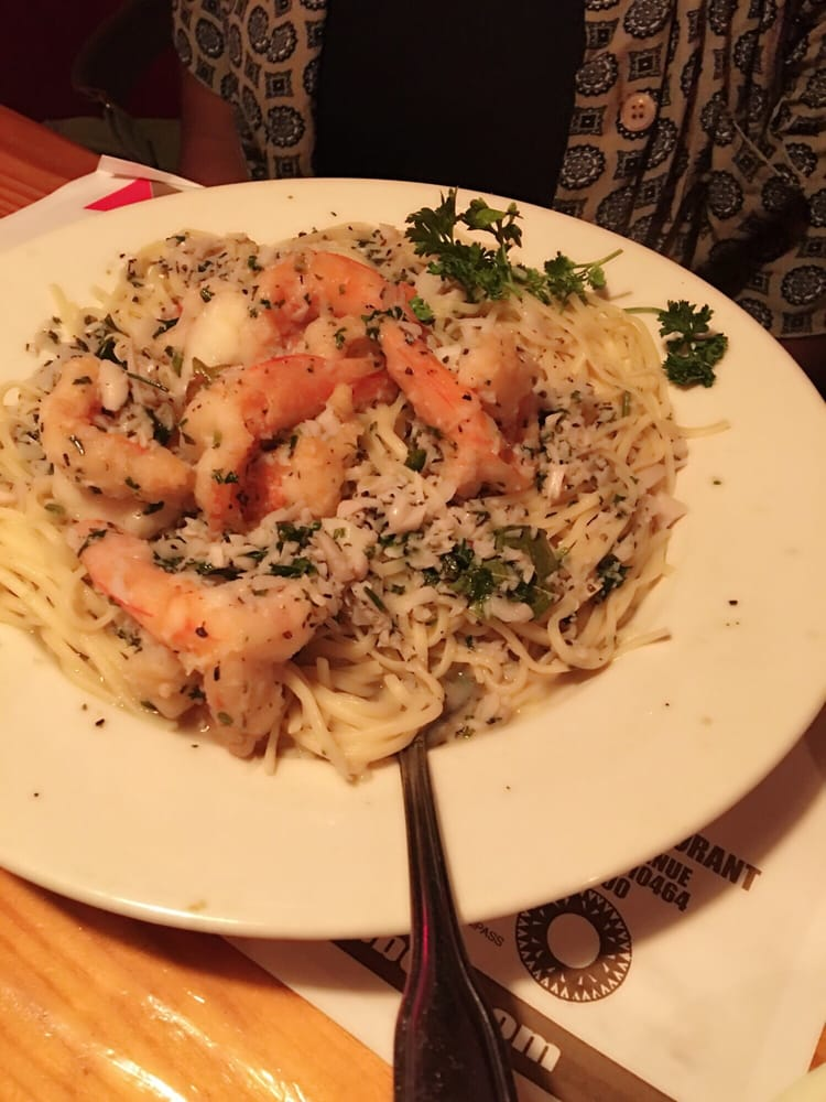 Garlic shrimp pasta yelp for Sammy s fish box