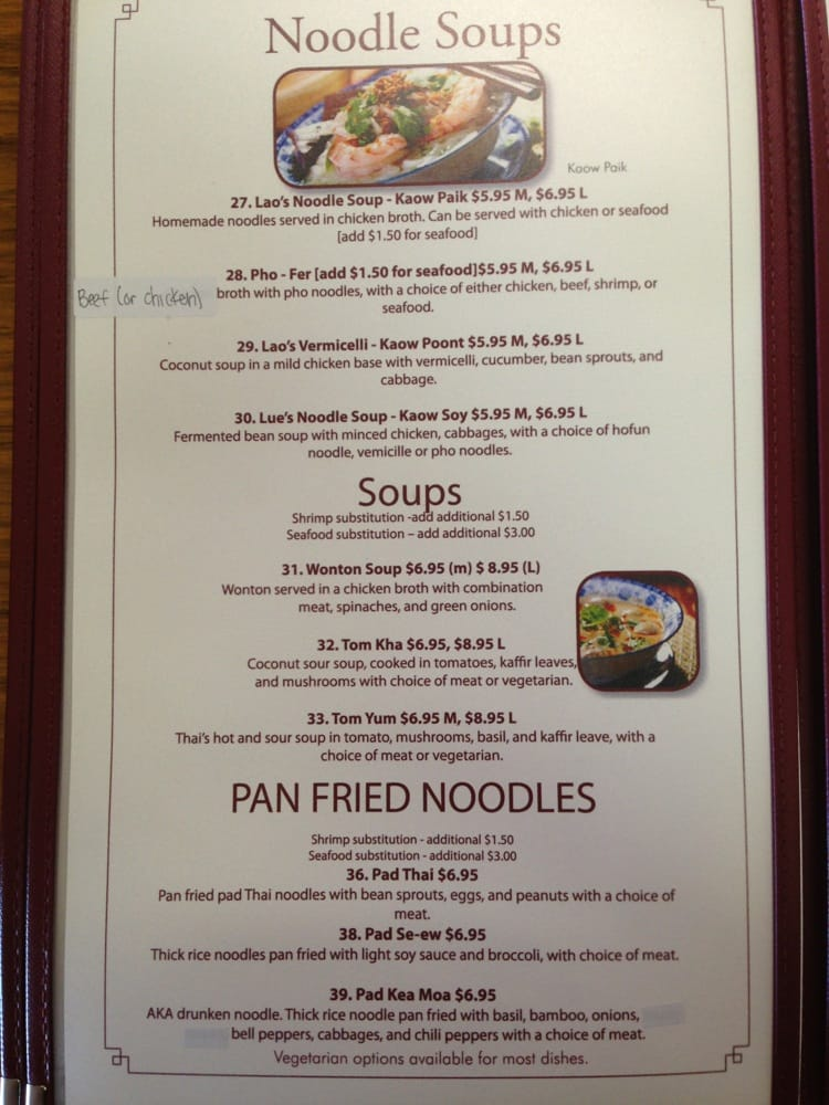 Soups Pan Fried Noodles Yelp